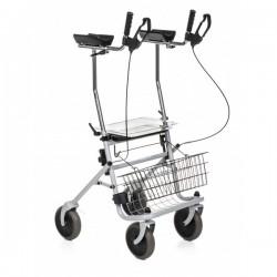 Déambulateur 4 roues avec appui ante-brachial