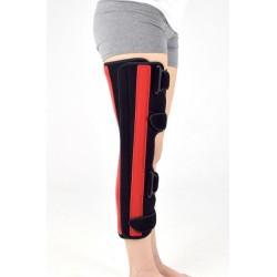 Attelle d'immobilisation de genou